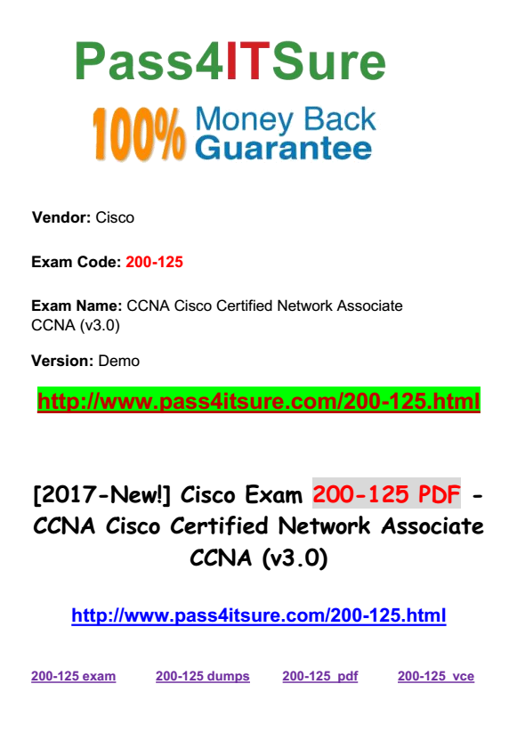 CCNA - Real IT Certification Training: Pass Exam & Get Certified ...