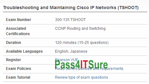 UPDATE February-9] Best Quality Cisco 300-135 Dumps PDF CCNP